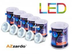Zestaw 5szt. żarówek LED 7W GU10