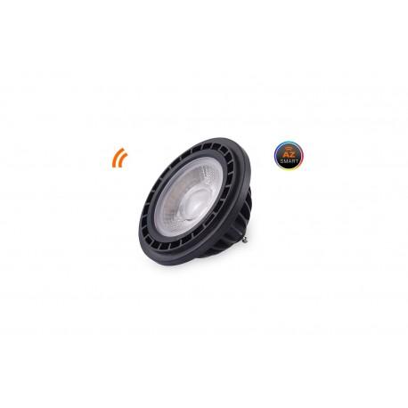 Żarówka LED WiFi ES111 Black 4000K 15W AZzardo Smart