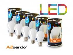 Zestaw 5szt. żarówek LED 9W E27