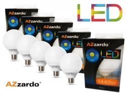 zestaw Żarówek LED 18W E27